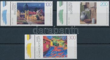 1995 Festmények ívszéli sor Mi 1774-1776