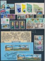 1977-1979 27 klf bélyeg + 2 klf blokk