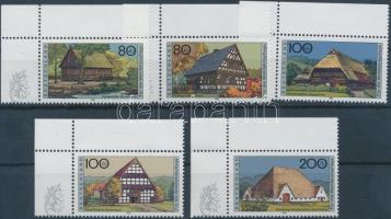 1996 Jótékonyság ívsarki sor Mi 1883-1887