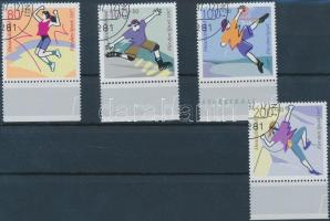 1997 Sporthilfe: sport ívszéli sor Mi 1898-1901
