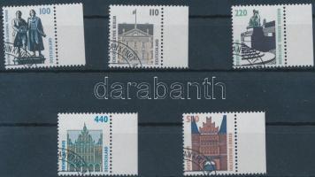 1997 Forgalmi ívszéli sor Mi 1934-1938