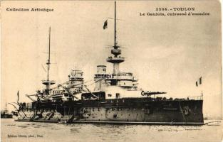French battleship Gaulois, Gaulois francia csatahajó