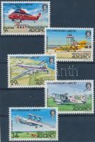 1985 Repülőtér sor Mi 18-22