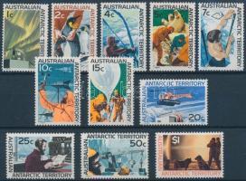 1966 Kutatások az Antarktiszon sor Mi 8-18