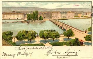 1899 Geneve, Genf; Kosmos litho s: Geiger R.