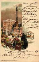 1899 Vienna, Wien, Am Hof; Karl Stückers Kunstanstalt litho s: L. Czech