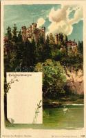 Hohenschwangau, Schloss / castle litho s: Heinisch