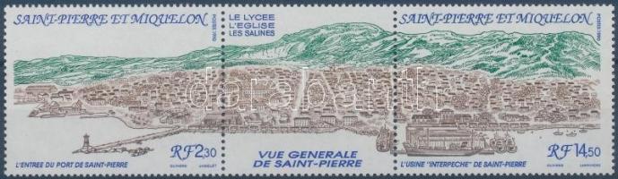 Saint Pierre stripe of 3, Saint Pierre hármascsík
