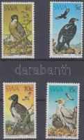 1975 Védett ragadozómadarak sor Mi 402-405