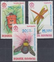 1970 Rovarok sor Mi 682-684
