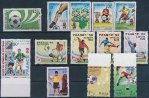 Football 13 sets, Labdarúgás motívum 13 klf bélyeg