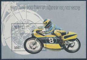 Motorcycle block, 100 éves a motorkerékpár blokk