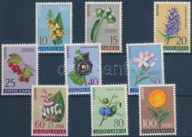 1961 Jugoszláv élővilág sor Mi 943-951