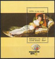 International stamp exhibition ESPANA block, ESPANA nemzetközi bélyegkiállítás blokk, Internationale Briefmarkenausstellung ESPANA Block