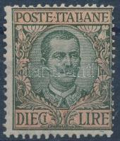 1910 III. Viktor Emánuel király Mi 99