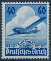 1936 10 éves a Lufthansa repülőgép Mi 603
