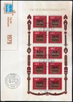 1979 Bélyegnap kisív Mi 1023 FDC