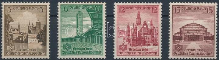 1938 Sport ünnep sor Mi 665-668