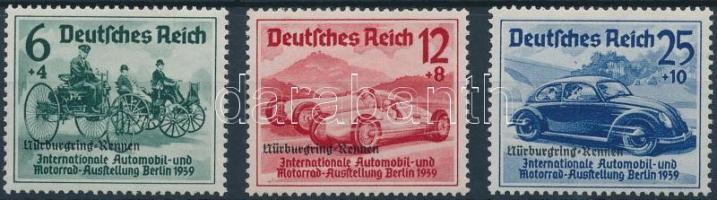 1939 Nürburgring autóverseny sor Mi 695-697