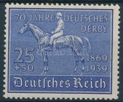 1939 70 éves a német lóversenyzés Mi 698