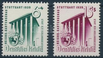 1939 Birodalmi Kertészeti kiállítás sor Mi 692-693