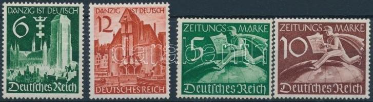 1939 2 db sor Mi 714-715 + Z 738-739