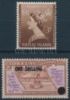 1953/1956 2 db Forgalmi érték Mi 4-5