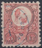 "Hungary (PEST / BRIEFSAM)MLUNG No 15"" blue, (PEST / BRIEFSAM)MLUNG No 15"" kék"