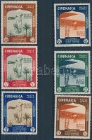 International exhibition 6 stamps, Nemzetközi kiállítás sor 6 értéke