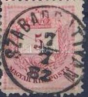 1881 5kr SZABADBATTYÁN