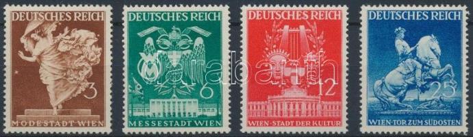 1941 Bécsi tavaszi vásár Mi 768-771