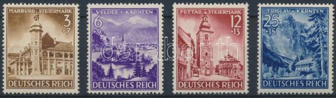 1941 Steiermark Karinthia, Krajna sor Mi 806-809