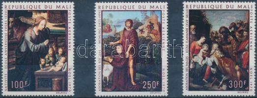 1970 Festmények sor Mi 252-254
