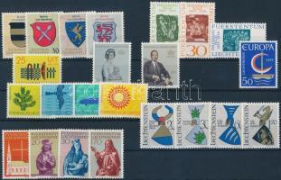 1965-1966 23 diff stamps, 1965-1966 kis összeállítás 23 klf bélyeg