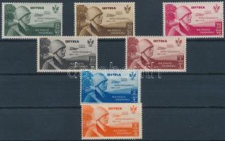 1934 Királyi látogatás sor 7 értéke Mi 233-242