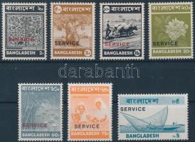 1973 Hivatalos értékek Mi 1-6, 8 I