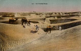 Les Grandes Dunes / Arabian folklore, camels, Arab folklór, tevék