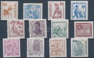 1963/1964 Forgalmi sor Mi 381-392