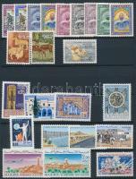 Algéria 1965-1969 Kis összeállítás: 63 klf bélyeg 2 lapos kis berakóban