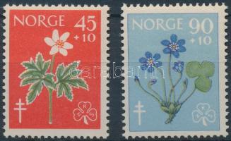 1960 Tuberkulózis; Virág sor Mi 438-439