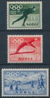 1951 Téli olimpia sor Mi 372-374