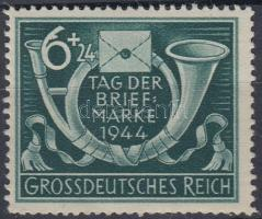 1944 Bélyegnap lemezhibás bélyeg Mi 904 I