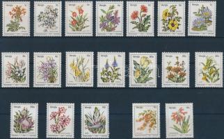 1979 Virágok sor Mi 1-17