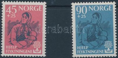 1960 Világ menekültjeinek éve sor Mi 442-443