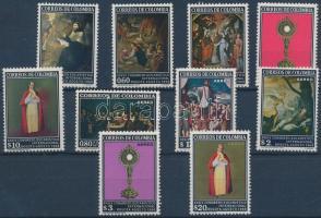 Eucharisztikus világkongresszus sor, Eucharistic Congress set