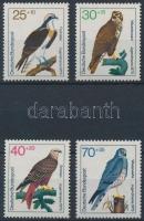 1973 Madár sor Mi 754-757
