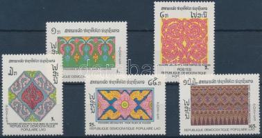 Decorative patterns set, Dekoratív minták sor