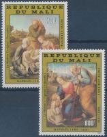 1983 Raffaello festmények sor Mi 981-982