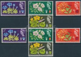 1964 10. Nemzetközi botanikus konferencia sor Mi 378-381 x-y
