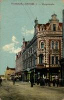 Bohumin, Oderberg; Hauptstrasse, Hotel Garni Lustig / main street, hotel (EB)